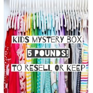 Kids Mystery Box 5 lbs Items for Resale or Keep